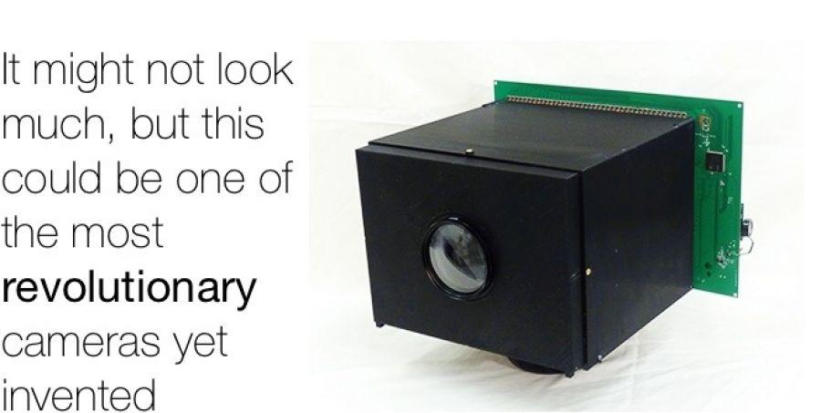 Революционная камера обеспечивает себя энергией