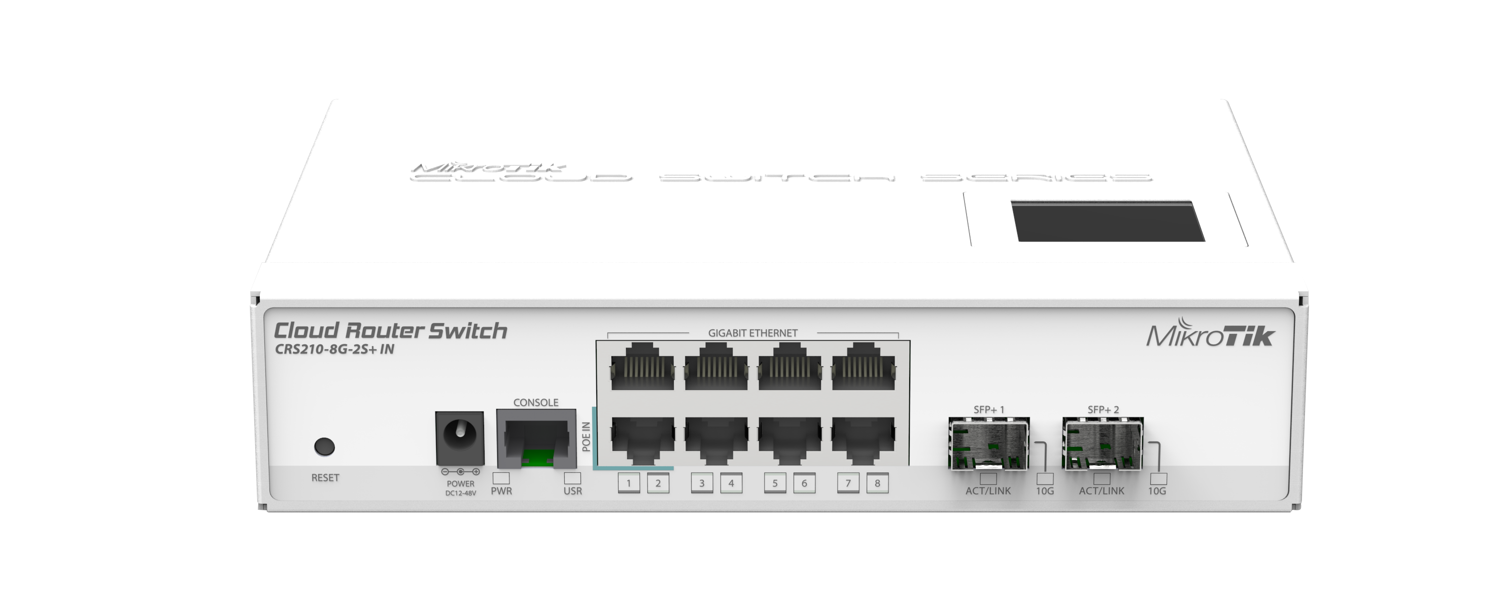 Маршрутизатор MikroTik CRS210-8G-2S-IN