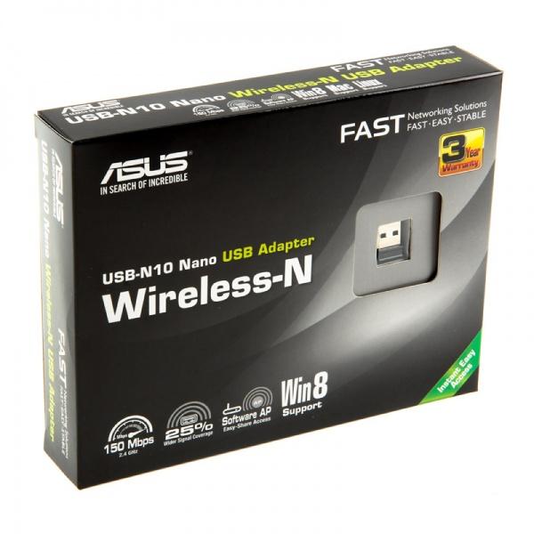 WiFi адаптер ASUS USB-N10 NANO