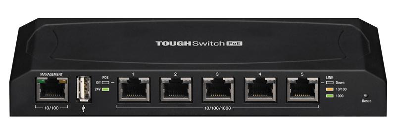 Коммутатор UBiQUiTi TOUGHSwitch TS-5-POE