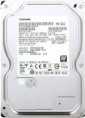 Винчестер Toshiba 1000Гб (DT01ACA100)