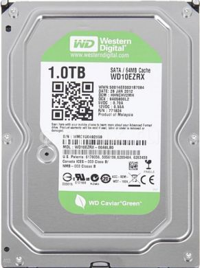 Винчестер Western Digital (WD) 1000Гб (WD10EZRX)