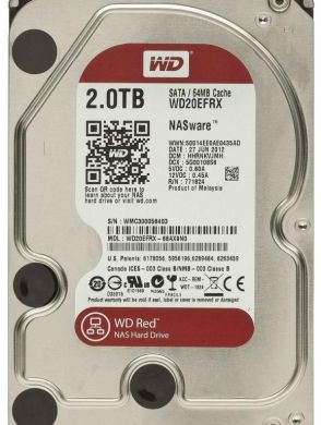 Винчестер Western Digital (WD) 2000Гб  (WD20EFRX)