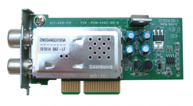 Сменный тюнер  к ресиверам Optibox Optibox DVB-C/T2