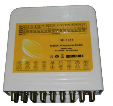 Коммутатор WinQuest GD-1611 16 in 1