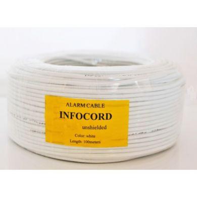 Сигнальный кабель INFOCORD 4x0,22 BC без экрана