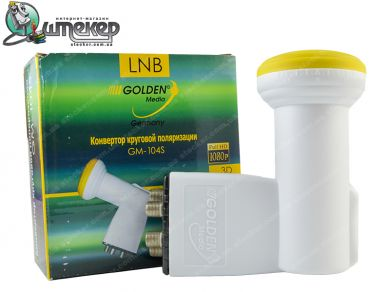Круговой конвертер Quad Golden Media GM-104S Quad
