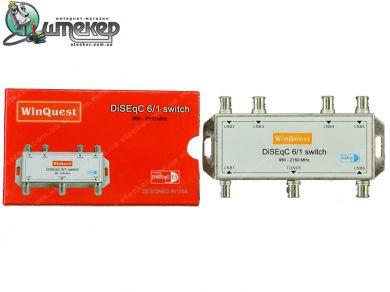 Коммутатор WinQuest GD-61A 6 in 1
