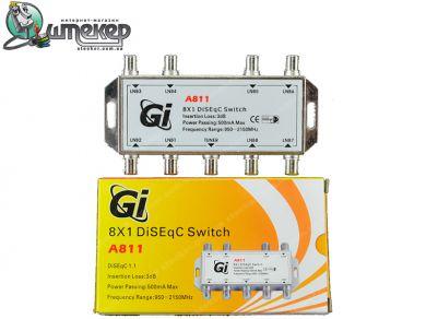 Коммутатор Galaxy Innovations A801 8 in 1