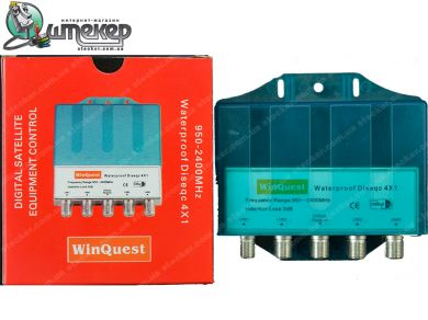 Коммутатор WinQuest Waterproof 4 in 1
