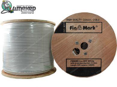 Коаксиальный кабель FinMark F 690BV Cu White
