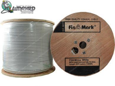 Коаксиальный кабель FinMark F 660BV Cu White