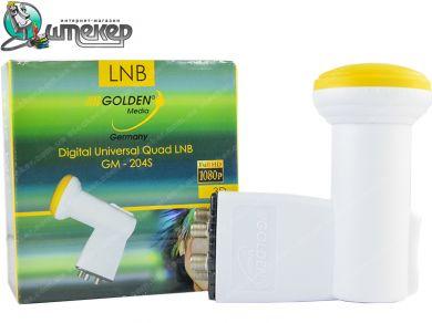 Линейный конвертер Quad Golden Media GM-204S Quad