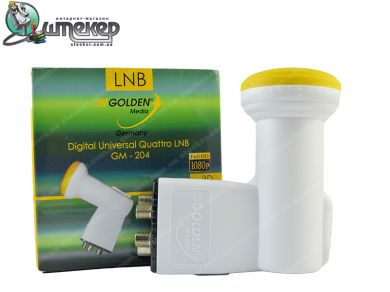 Quattro конвертер под мультисвич Golden Media GM-204  Quattro