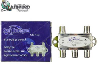 Коммутатор Sat-Integral GD-41C 4 in 1