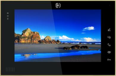 Цветной IP видеодомофон BasIP AS-10 v3