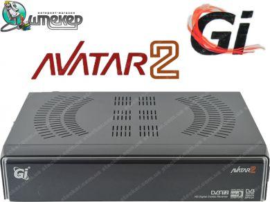 Спутниковый HDTV ресивер Galaxy Innovations GI Avatar 2