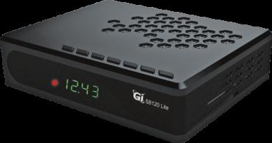 Спутниковый HDTV ресивер Galaxy Innovations GI s8120 lite