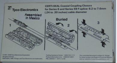 Защиту соединения ТВ кабеля USA ff