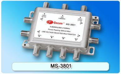 Мультисвитч 3/8 Gecen MS-3801