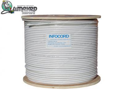 Коаксиальный кабель INFOCORD F660BV White 305м