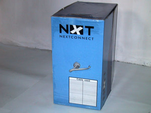 Кабель витая пара NXT (NEXTCONNECT) UTP (NXT-TC-A5146) cat6 305m