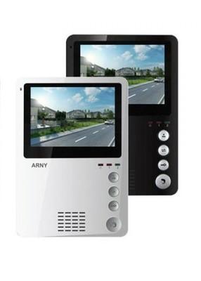 Цветной видеодомофон ARNY AVD-410 Black