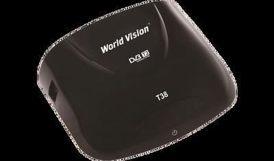Цифровой эфирный DVB-T2 ресивер World Vision T38