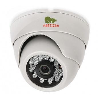 AHD Видеокамера Partizan CDM-233H-IR HD v 3.1 Metal