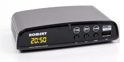Цифровой эфирный DVB-T2 ресивер Romsat T2050 Plus