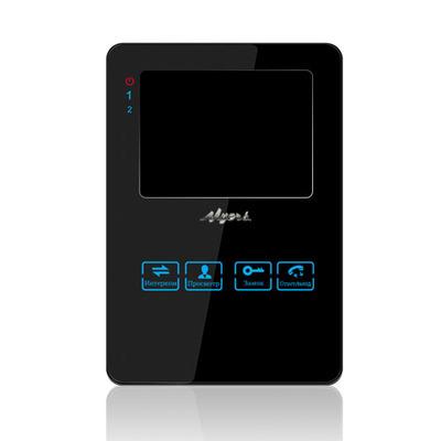 Цветной видеодомофон Myers M-42SD Black