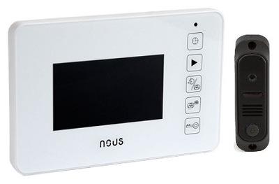 Видеодомофон + вызывная панель NOUS NV4U