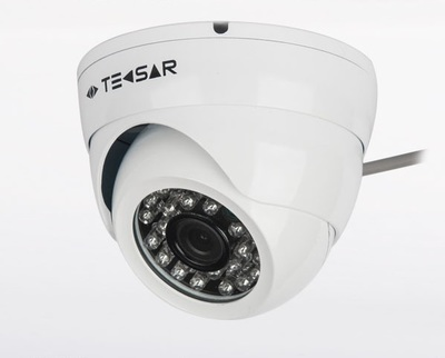 AHD Видеокамера TECSAR AHDD-1M-20F-out-eco