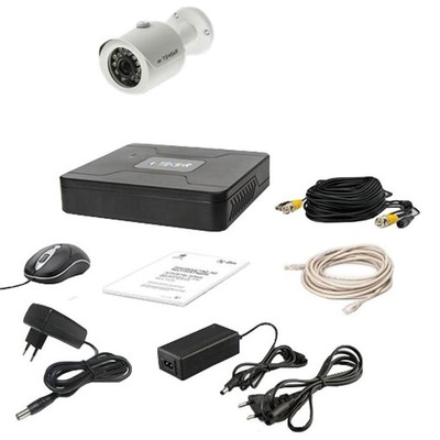 Комплект AHD видеонаблюдения TECSAR 1OUT + HDD 500ГБ