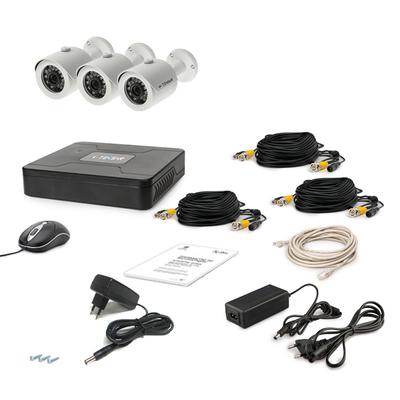 Комплект AHD видеонаблюдения TECSAR 3OUT