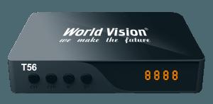 Цифровой эфирный DVB-T2 ресивер World Vision T56