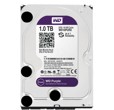 Винчестер Western Digital (WD) 1Тб WD10PURX