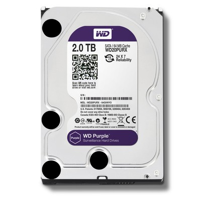 Винчестер Western Digital (WD) 2Тб WD20PURX