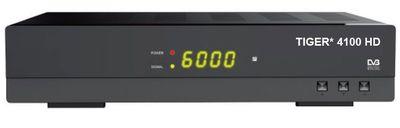 Спутниковый HDTV ресивер Tiger 4100 HD