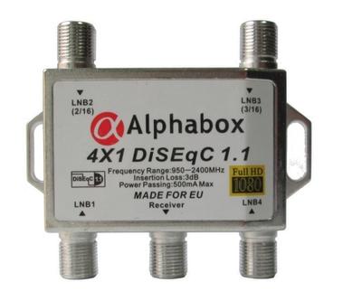 Коммутатор AlphaBox Протокол 1.1 4x1