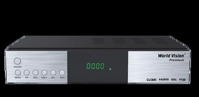 Цифровой эфирный DVB-T2 и кабельный ресивер World Vision Premium