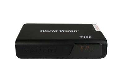 Цифровой эфирный DVB-T2 ресивер World Vision T126