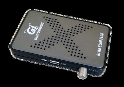 Спутниковый HDTV ресивер Galaxy Innovations Slim Plus