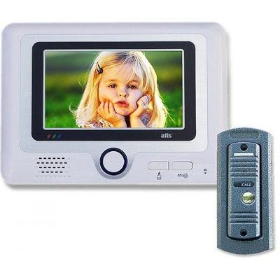 Видеодомофон + вызывная панель Atis AD-297C/AT-305C brow/gray