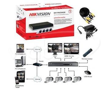 HDTVI видеорегистратор Hikvision DS-J142I/7104HGHI-SH