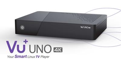 Спутниковый UHDTV ресивер VU + Uno 4K