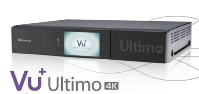Спутниковый UHDTV ресивер VU + Ultimo 4K 1X DUAL FBC-S/S2/S2X