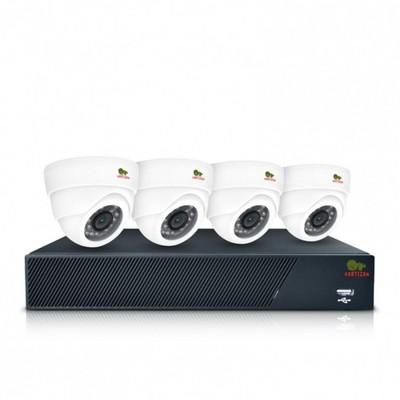 Комплект AHD видеонаблюдения Partizan Indoor Kit 1MP 4xAHD