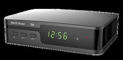Цифровой эфирный DVB-T2 ресивер World Vision T54
