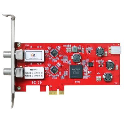6902 DVB-S2 Dual Tuner PCIe Card TBS TBS6902 DVB-S2 Dual Tuner PCIe Card